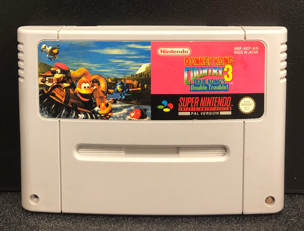 Donkey Kong Country 3 SNES Cartridge Only