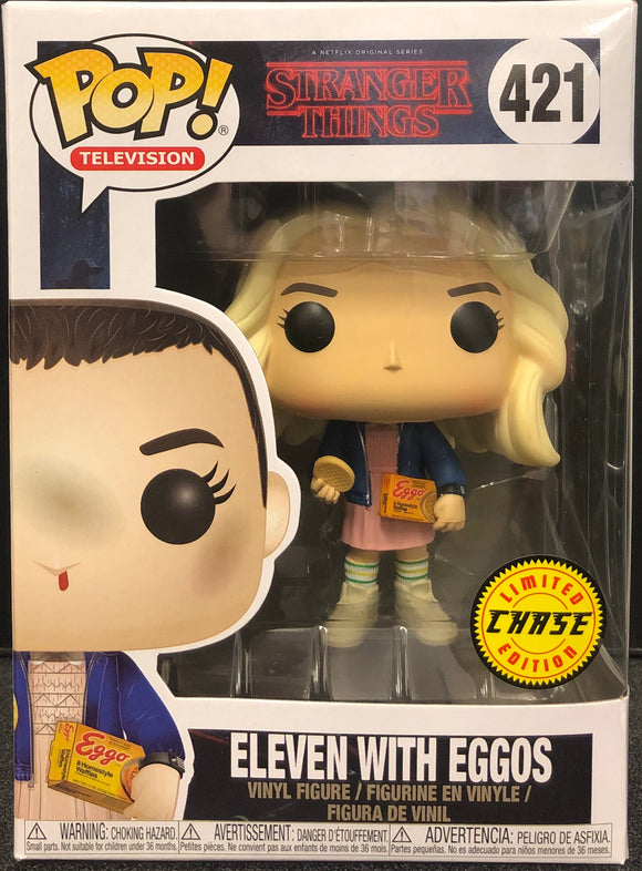 Stranger Things - Eleven with Eggos Chase Pop! Vinyl