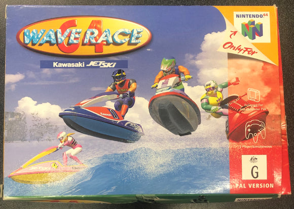 Waverace 64 - Boxed N64