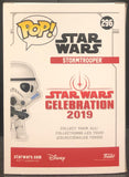 Star Wars - Stormtrooper Gold Chrome SW19 US Exclusive Pop! Vinyl (Traded)