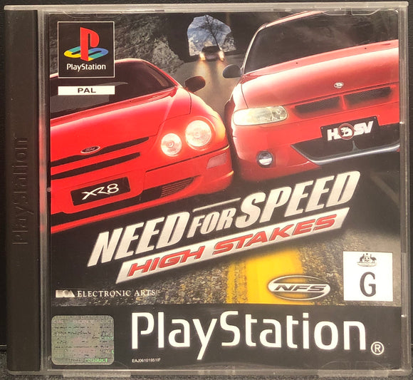 Need For Speed: High Stakes PS1