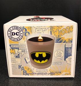 Batman DC Comics Mango Scented Soy Candle