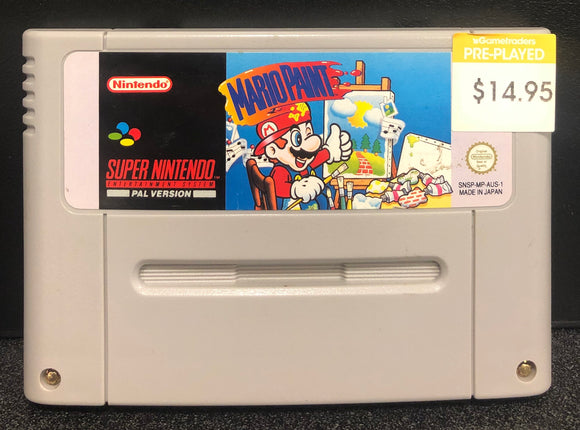 Mario Paint SNES Cartridge Only