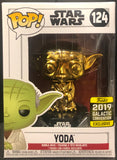 Star Wars - Yoda Gold Chrome SW19 US Exclusive Pop! Vinyl (Traded)