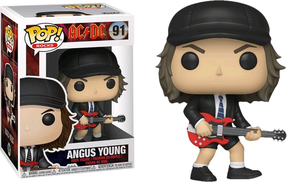 *Pre-order* AC/DC - Angus Young Pop! Vinyl (Returning May)