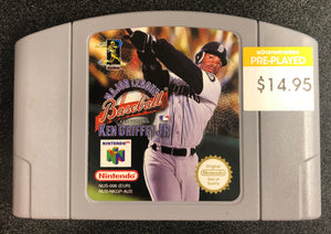 Major League Baseball Featuring Ken Griffey Jr N64 Cartridge Only