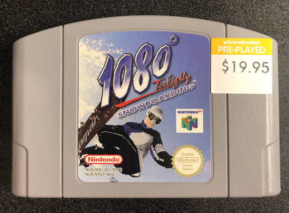 1080 Snowboarding N64 Cartridge Only