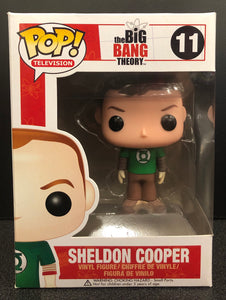 Big Bang Theory Sheldon Cooper Green Shirt Pop! Vinyl