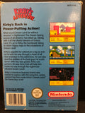 Kirby's Adventure NES Boxed