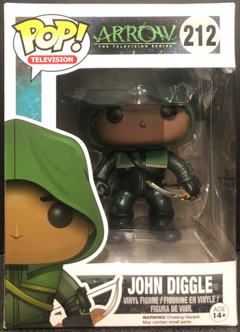 Arrow John Diggle Hooded Pop! Vinyl