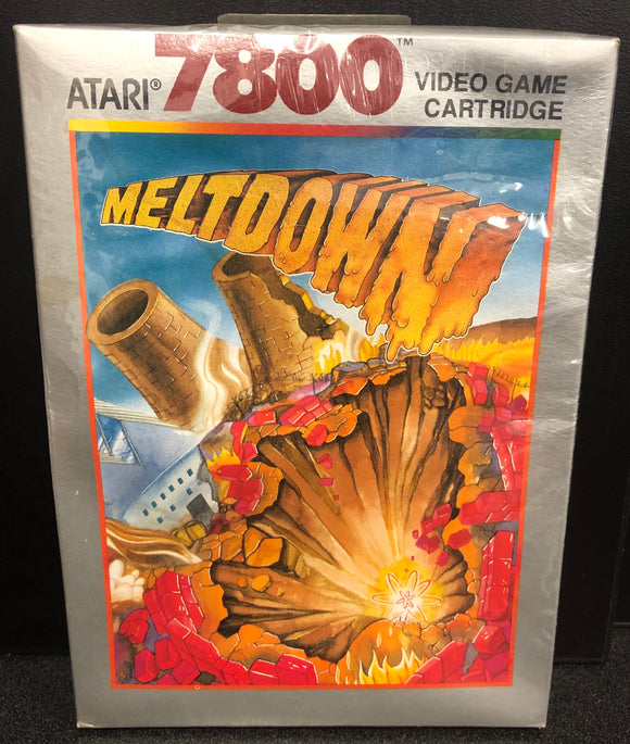 Meltdown (Atari 7800) Sealed