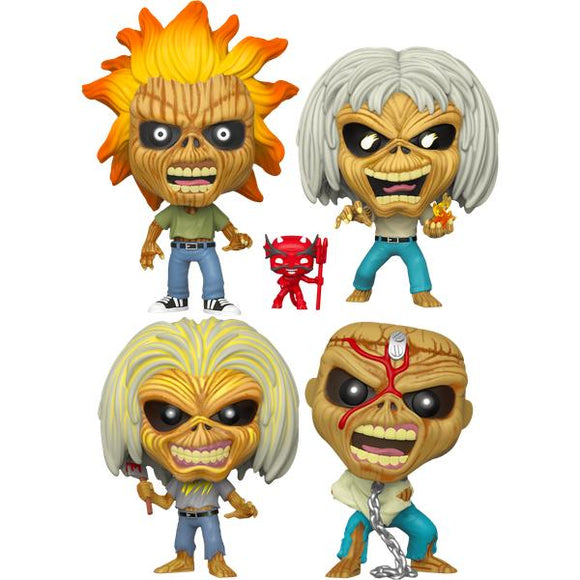 Iron Maiden - Iron Maiden Pop! Vinyl Bundle