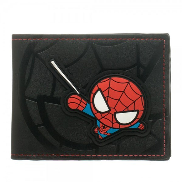 Kawaii Spiderman Bi-Fold Wallet