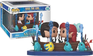 The Little Mermaid - Kiss the Girl US Exclusive Movie Moment Pop! Vinyl
