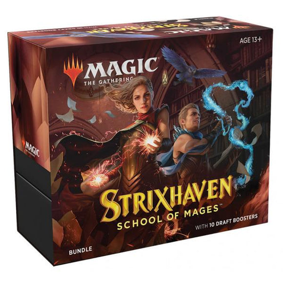 *Pre-order* Magic the Gathering - Strixhaven School of Mages Bundle (ETA 23rd April)
