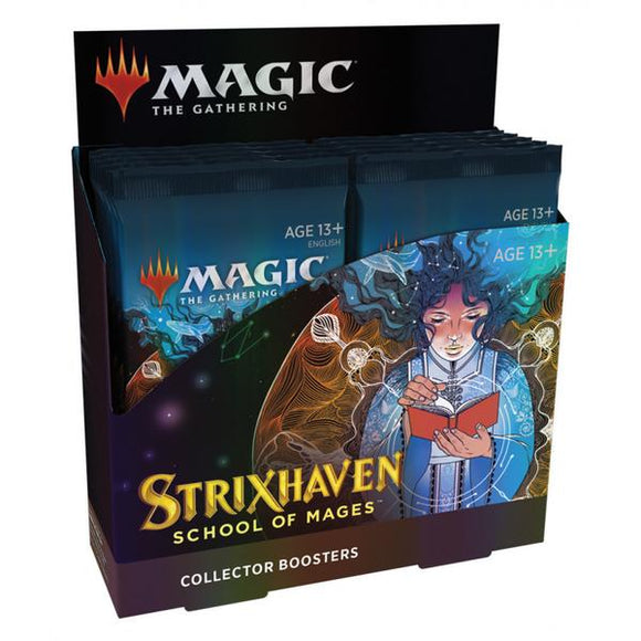 *Pre-order* Magic the Gathering - School of Mages Collector Boosters Sealed Box (ETA 23rd April)