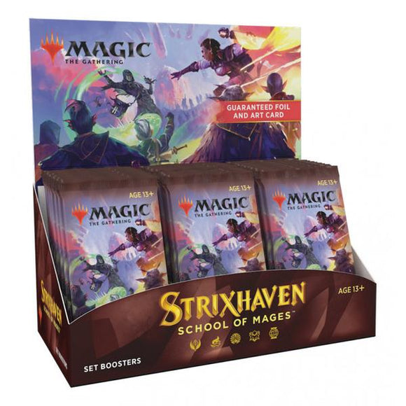 *Pre-order* Magic the Gathering - Strixhaven School of Mages Set Boosters Sealed Box (ETA 23rd April)