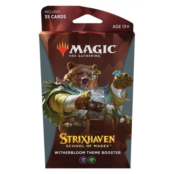 Magic the Gathering - Strixhaven School of Mages Theme Booster