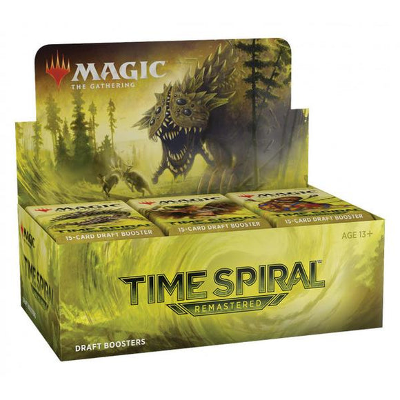 Magic the Gathering - Time Spiral Remastered Draft Boosters Sealed Box