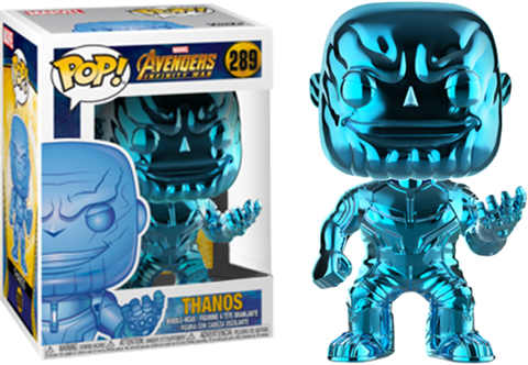 Avengers 3: Infinity War - Thanos Blue Chrome US Exclusive Pop! Vinyl