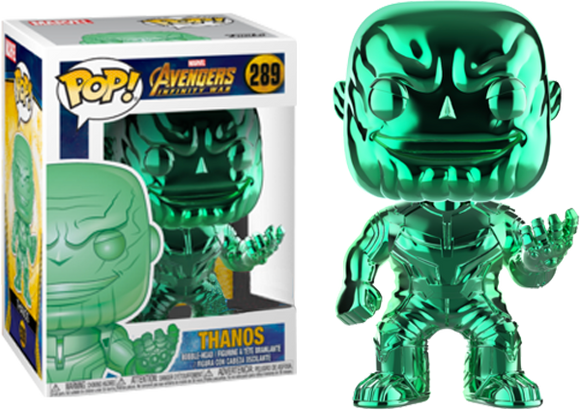 Avengers 3: Infinity War - Thanos Green Chrome Pop! Vinyl