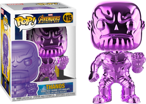 Avengers 3: Infinity War - Thanos Purple Chrome Pop! Vinyl