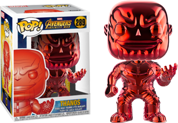 Avengers 3: Infinity War - Thanos Red Chrome Pop! Vinyl