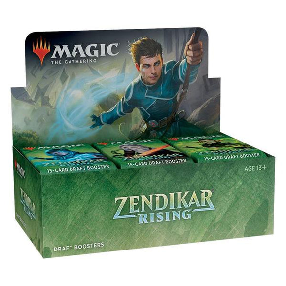 *Pre-order* Magic the Gathering - Zendikar Rising Draft Booster Box (25th September)