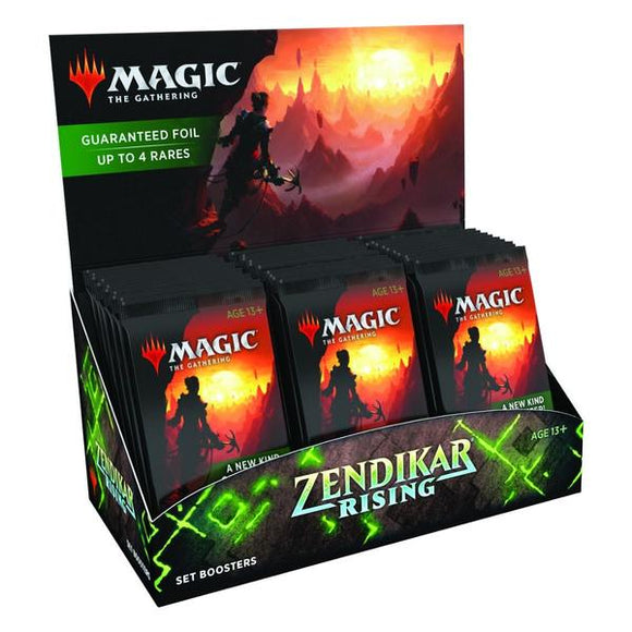 *Pre-order* Magic the Gathering - Zendikar Rising Set Booster Box (25th September)
