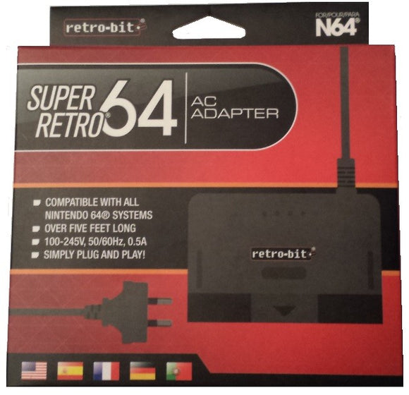 N64 Super Retro AC Adapter AU