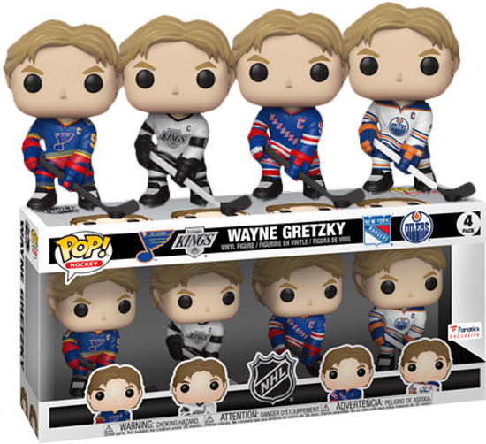 NHL: Legends - Wayne Gretzky US Exclusive Pop! Vinyl 4-pack