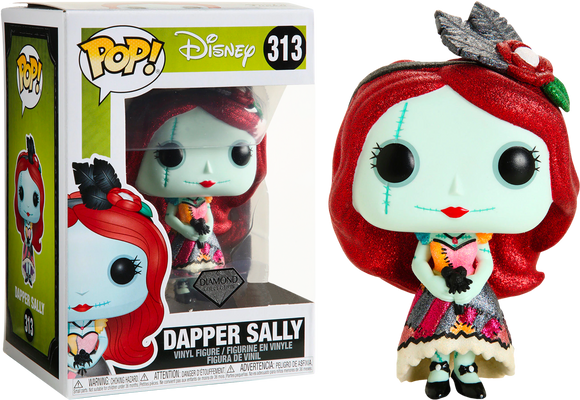 The Nightmare Before Christmas - Dapper Sally Diamond Glitter US Exclusive Pop! Vinyl