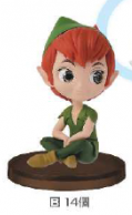 QPosket Petit Fantastic Time II Peter Pan Figure