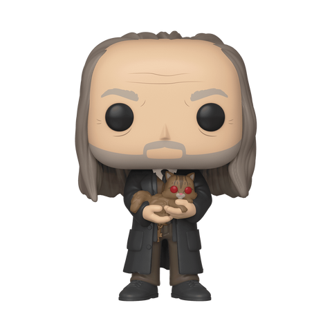 Harry Potter - Filch & Mrs Norris Yule NYCC 2019 Exclusive Pop! Vinyl