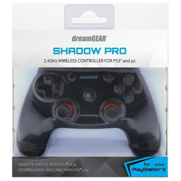 PS3/PC dreamGEAR Shadow Pro Wireless Controller