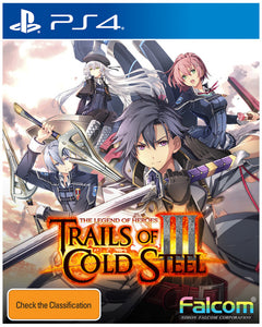 The Legend of Heroes: Trails of Cold Steel III - Early Enrollment Edition PS4