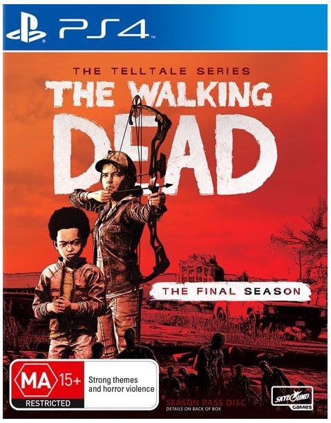 The Walking Dead: The Final Season PS4