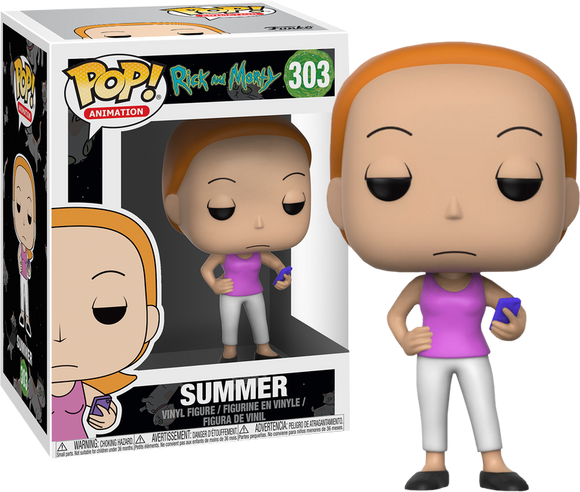 Rick and Morty - Summer Pop! Vinyl