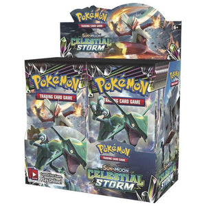 Pokemon TCG Sun & Moon Celestial Storm Sealed Booster Box