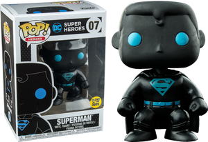 Justice League - Superman Silhouette Glow US Exclusive Pop! Vinyl