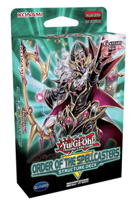 Yugioh - Order of the Spellcasters Structure Deck