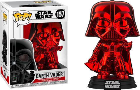 Star Wars - Darth Vader Red Chrome US Exclusive Pop! Vinyl