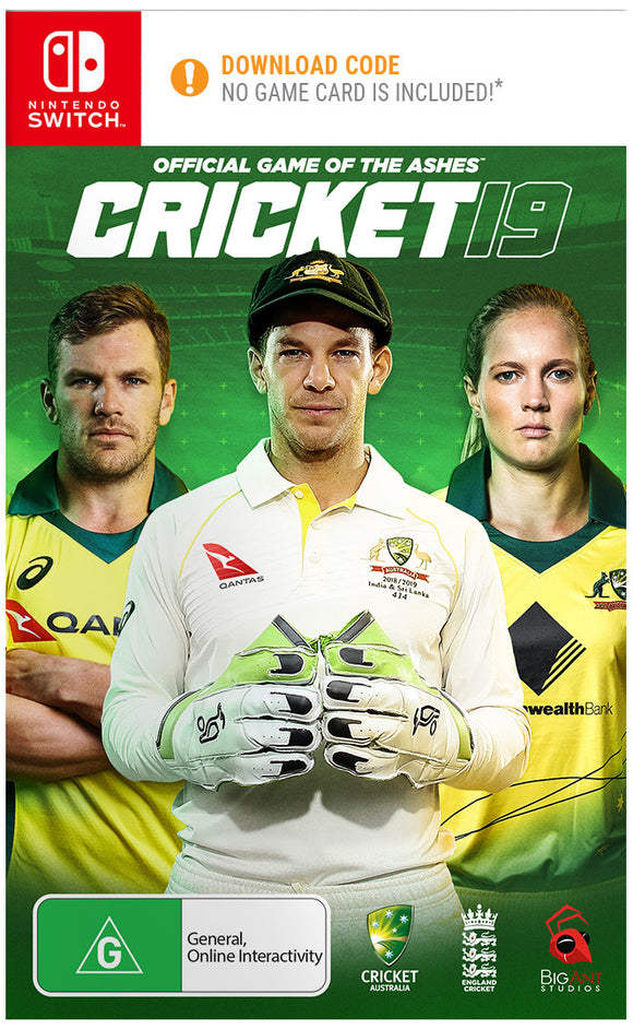 Cricket 19 - Official Game of the Ashes SWITCH