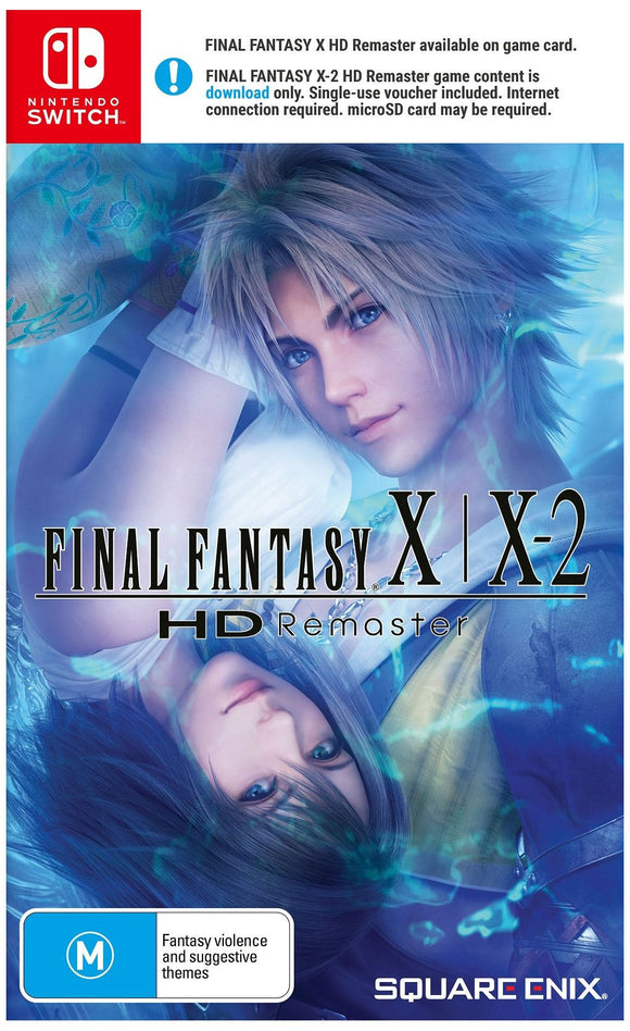 Final Fantasy X/X-2 HD Remaster SWITCH