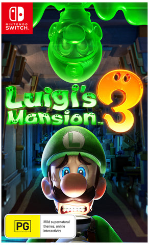 *Pre-order* Luigi's Mansion 3 SWITCH (October 31st)