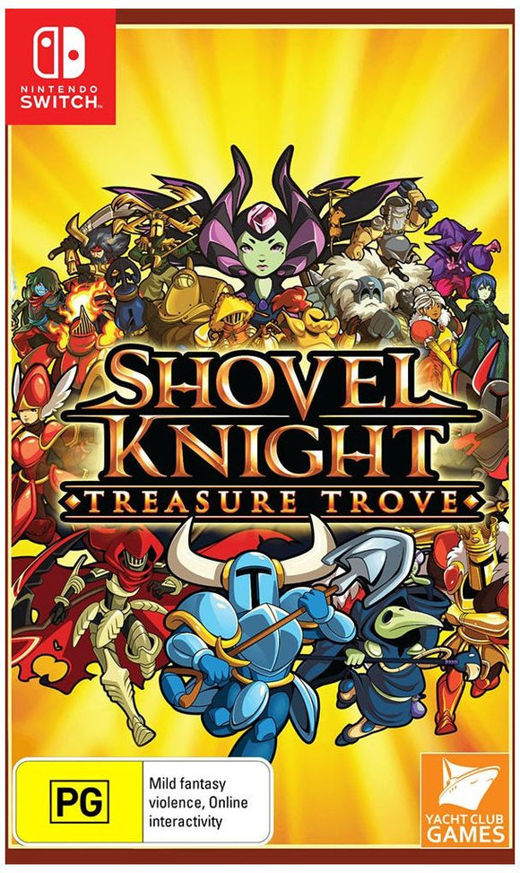 Shovel Knight: Treasure Trove SWITCH