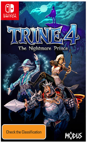*Pre-order* Trine 4 - The Nightmare Prince SWITCH