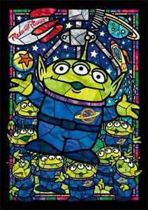 *Pre-order* Tenyo Alien Stained Glass 266 pc puzzle (ETA November)