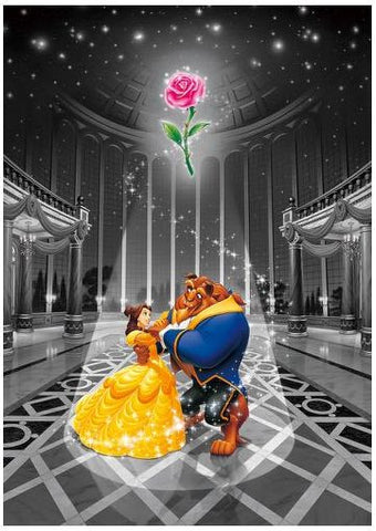 *Pre-order* Tenyo Beauty & the Beast Magic of Love Frost Art 500 Pc Puzzle (ETA November)