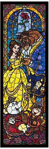 *Pre-order* Tenyo Beauty & the Beast Stained Glass 456 Pc Puzzle (ETA November)